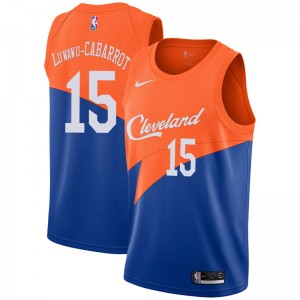 Nike Cleveland Cavaliers Swingman Blue Timothe Luwawu-Cabarrot 2018/19 Jersey - City Edition - Men's