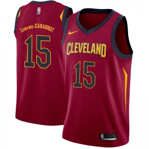 Nike Cleveland Cavaliers Swingman Timothe Luwawu-Cabarrot Maroon Jersey - Icon Edition - Youth